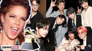 Halsey CLAPS BACK About BTS' Grammy Shut Out & Fandoms Are Now Fighting!