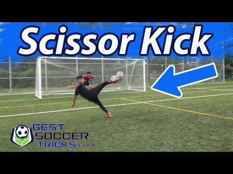 How To Do A Scissor Kick
