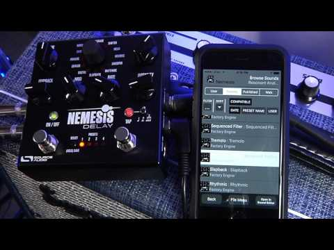 Creating a Nemesis Delay Preset with the Neuro Mobile App