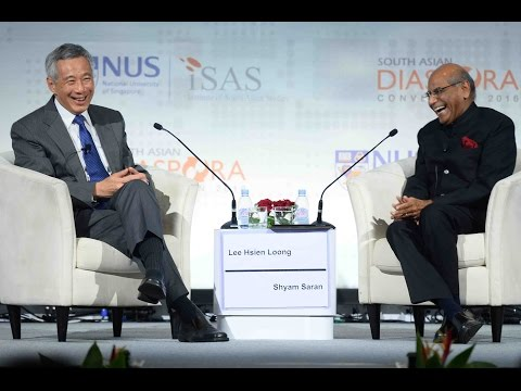 SADC 2016 (Day 1) : Gala Dinner - PM Lee Hsien Loong In Conversation with Mr Shyam Saran
