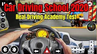 Car Driving School 2020  Real Driving Academy Test Gameplay screenshot 3