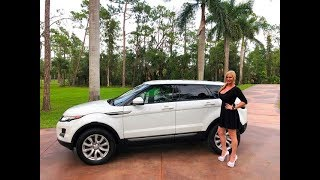 2015 Range Rover Evoque Test Drive & Review w/MaryAnn For Sale by: AutoHaus of Naples