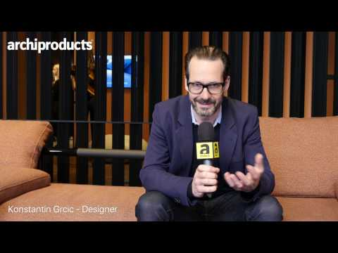 Fuorisalone 2017 | CASSINA - Konstantin Grcic talks about Soft Prop, the new sofa system