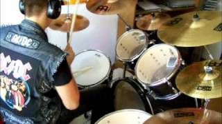 Airbourne - No way but the hard way Drum Cover