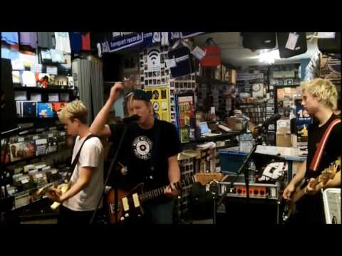 SWMRS in-store at Banquet Records, Kingston
