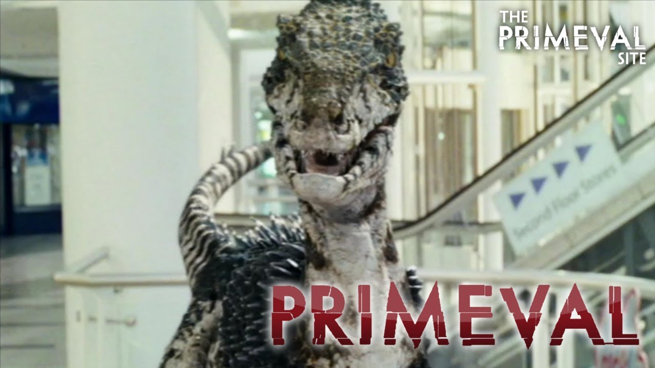Download Primeval: Series 2 - Episode 1 -  A Raptor Chases Connor in a Shopping Mall (2008)