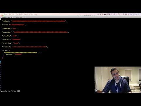 Ultimate Intro to Ethereum Ðapp Development [Part 22] - The Genesis Block