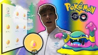 8x 7km Eier öffnen! ✨ Alola Formen • Pokémon Go deutsch