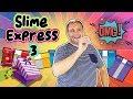 SLIME EXPRESS 3 | SLIME CHALLENGE  | Juegos con Slime  | Como se Hace con David