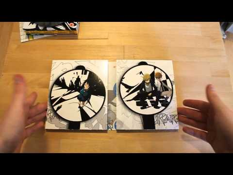 Anime Unboxing - Durarara!! Limited Edition Blu-Ray Box