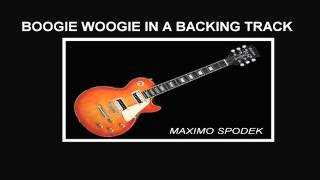 PIANO BOOGIE IN A BACKING TRACK