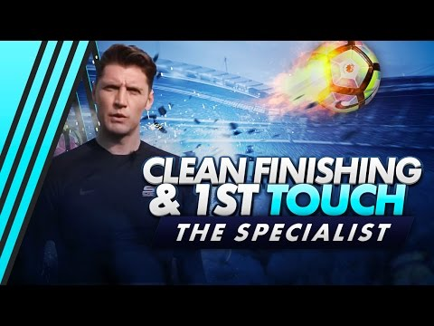Clean Finishing & Perfect First Touches | The Specialist Ft Simon Cox