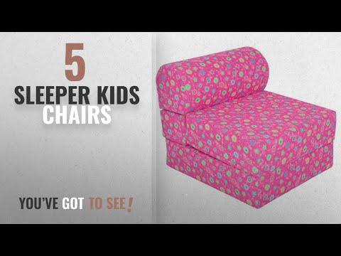 Top 10 Sleeper Kids Chairs [2018]: Children's Studio Chair Sleeper Jr. Twin 24