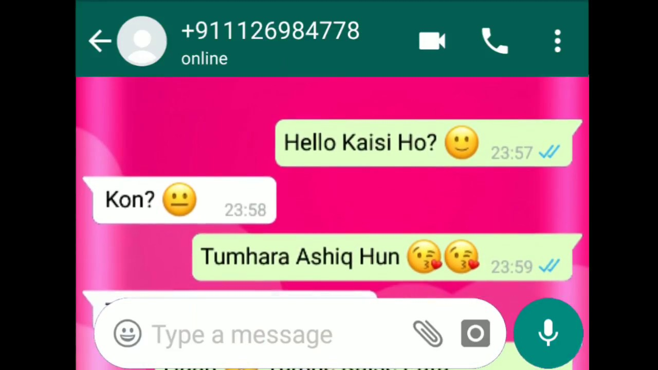 Wrong Number 😂😁 || WhatsApp Comedy Chatting || Hindi Funny Joke