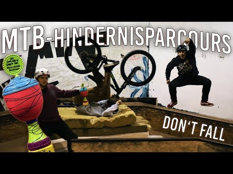 MTB OBSTACLE COURSE 2 - HINDERNIS PARCOURS CHALLENGE!