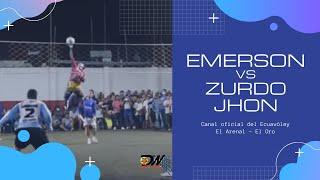 Emerson vs Zurdo Jhon / DW Ecuavóley