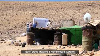 Homebiogas Project with the Peres Center for Peace