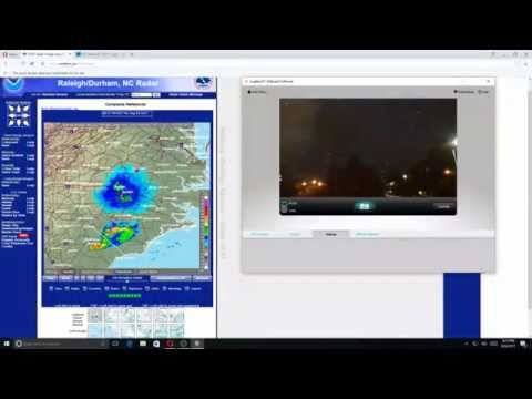 Tracking  Hurricane Harvey