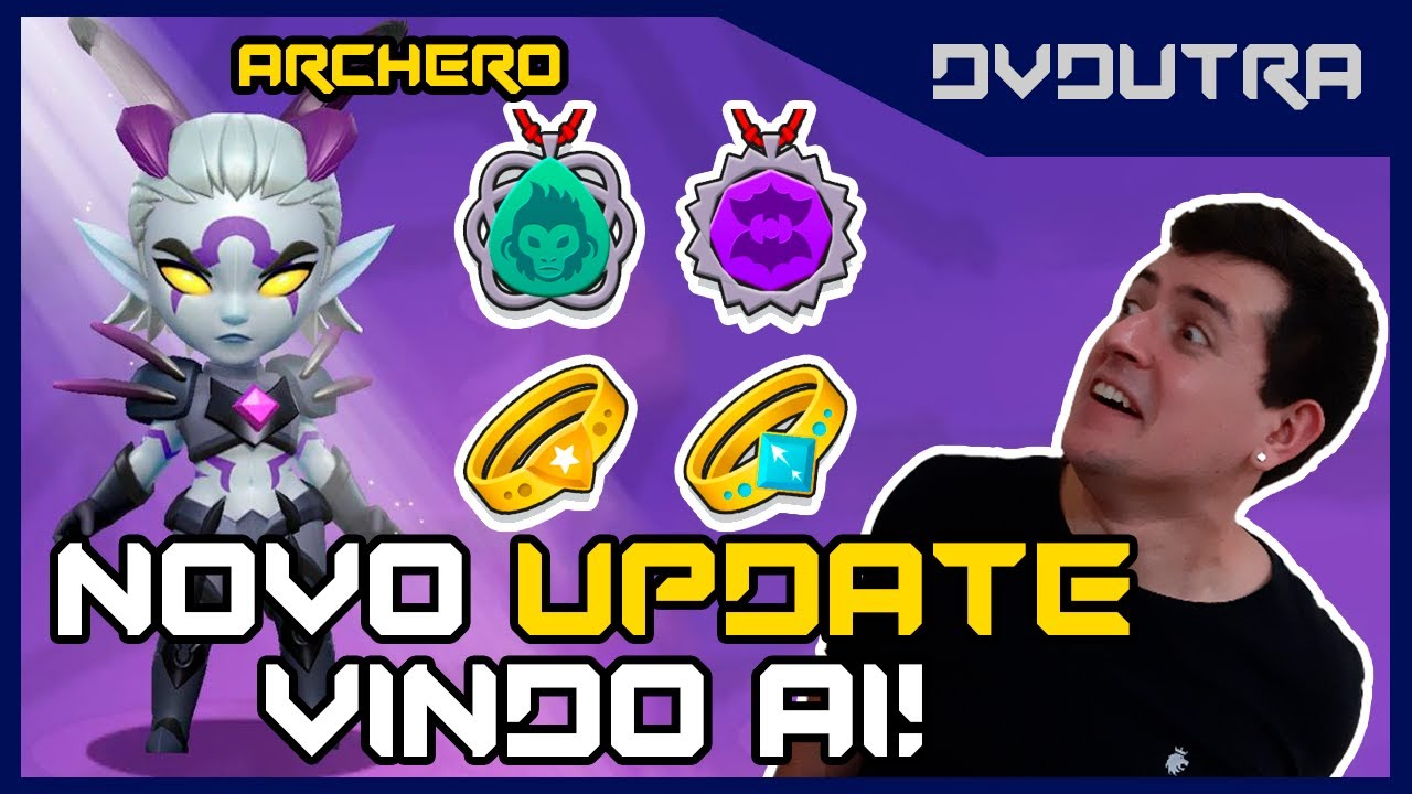 ARCHERO: SPOILERS DO UPDATE 2.3.0