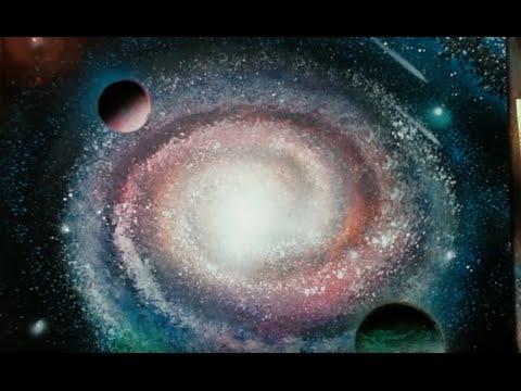 spray paint art secrets tutorials waves spiral galaxy. Black Bedroom Furniture Sets. Home Design Ideas