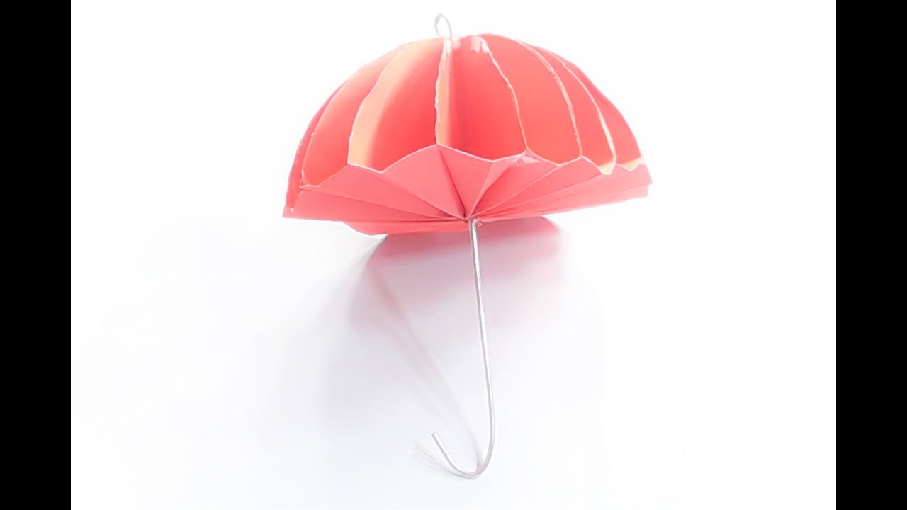 Origami Parasol Umbrella Instructions | 720x1280