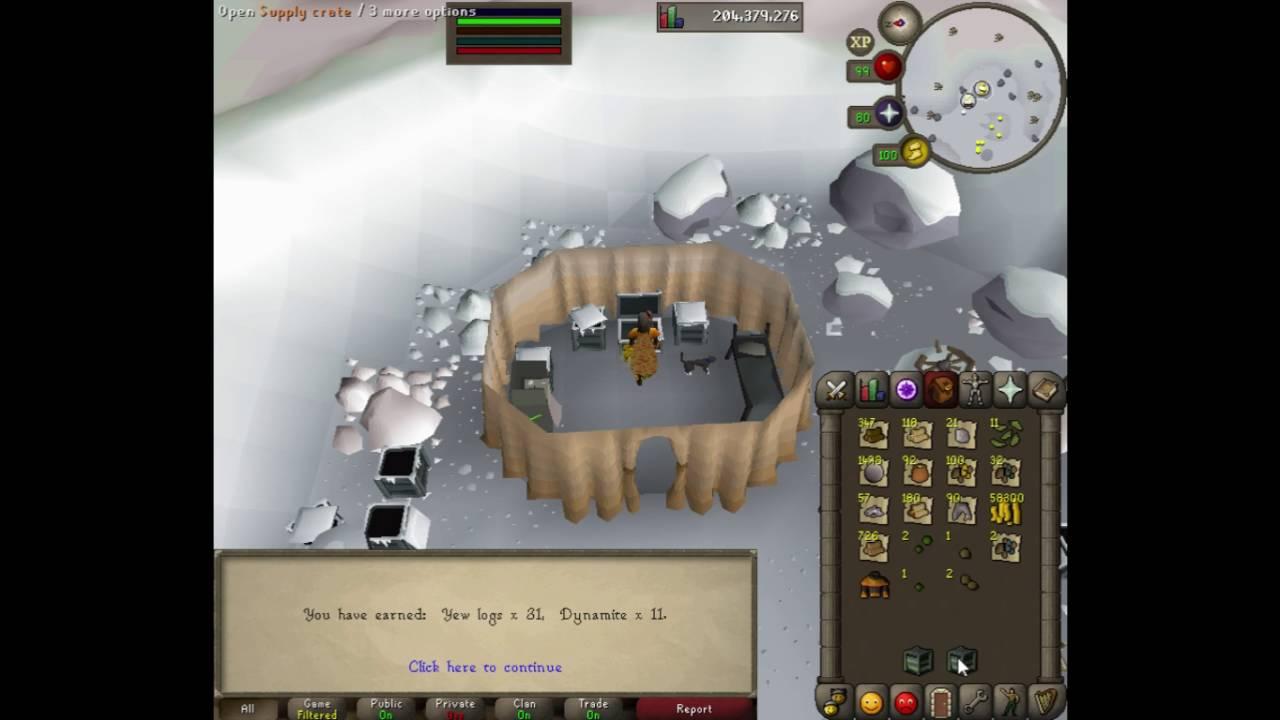 100 Wintertodt boss OSRS , phoenix pet ? ( 10 hours