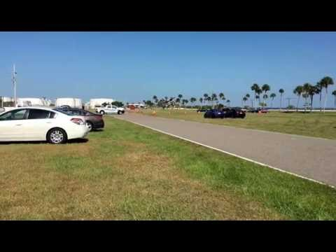 Lockdown on Cape Canaveral Air Force Station