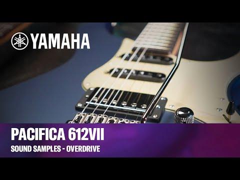 Yamaha Pacifica 612VII | Guitar Sound Samples - Overdrive
