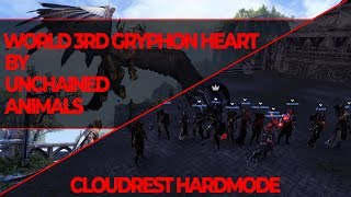 World 3rd Gryphon Heart by Unchained Animals - Cloudrest Hardmode Speedrun No-Death