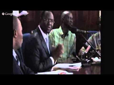 Press Briefing on Liberia-Ivory Coast Regional Submit