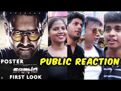 SAAHO First Poster | PUBLIC REACTION | Prabhas, Shraddha Kapoor
