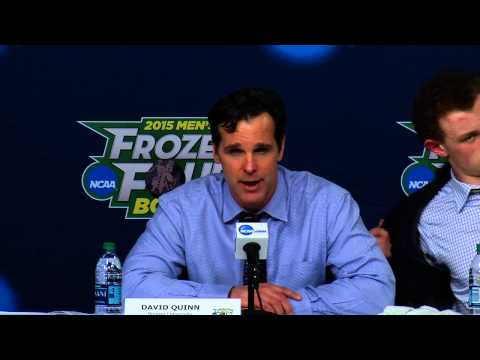 Frozen Four Semifinal #2 Postgame Press Conference