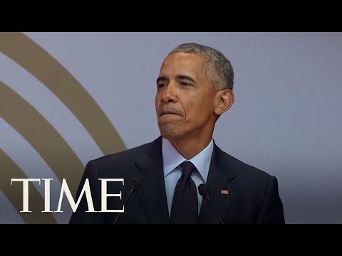 Barack Obama Slams 'Strongman Politics' Without Directly Attacking President Trump  TIME