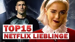 TOP 15: unsere NETFLIX Lieblingsserien 📺 NerdRanking