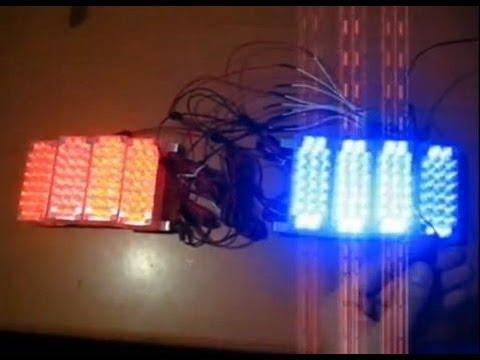 Police Led Lights >> 176 LED Running Strobe Light Set for Power Wheels Police ...