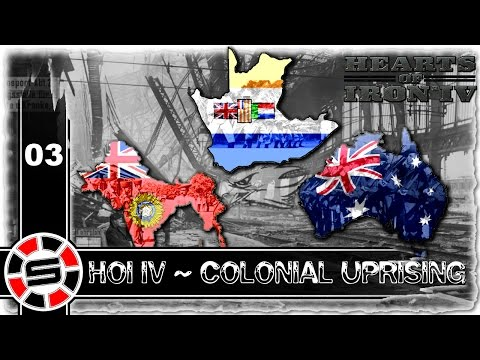 Let's Play: HOI IV ~ Colonial Uprising w/ Tank & Bendilin E03 ~ Free Communist South Africa