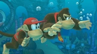 Donkey Kong Country Tropical Freeze 100% Walkthrough - World 4-Boss & 4-K (All Puzzle Pieces)
