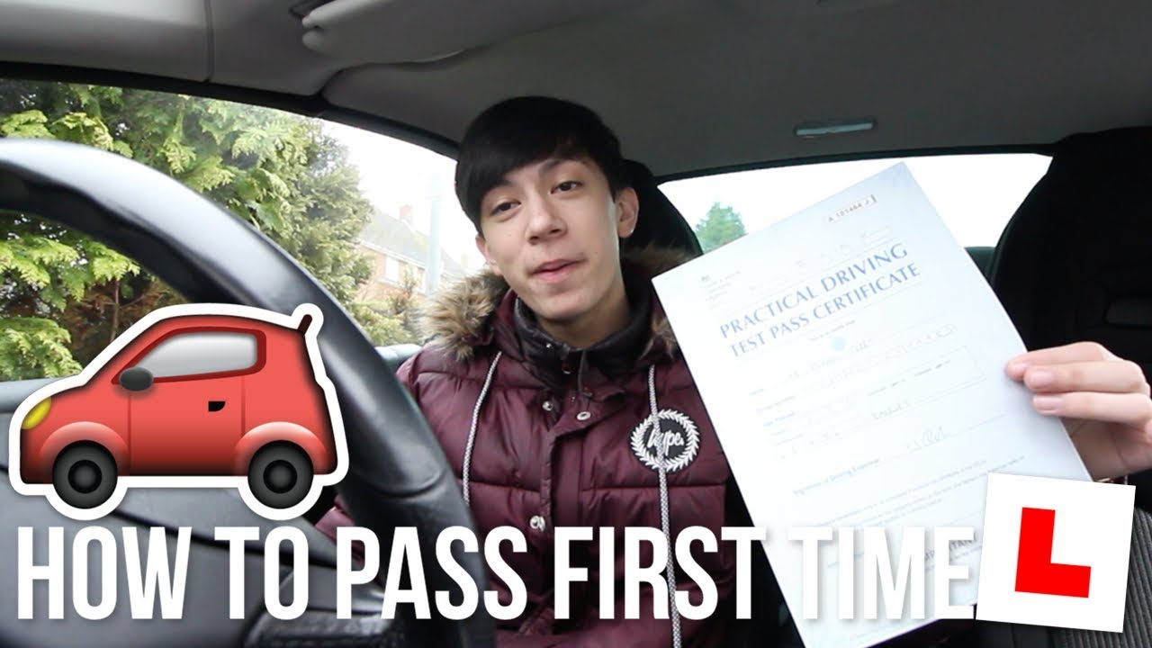 pass your driving test first time 2018