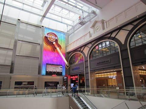 Lotte World Tower, Lotte World Mall & Hard Rock Cafe - Seoul