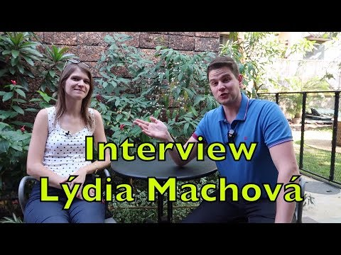 Interview with Polyglot Lýdia Machová about her Background and Language Mentoring
