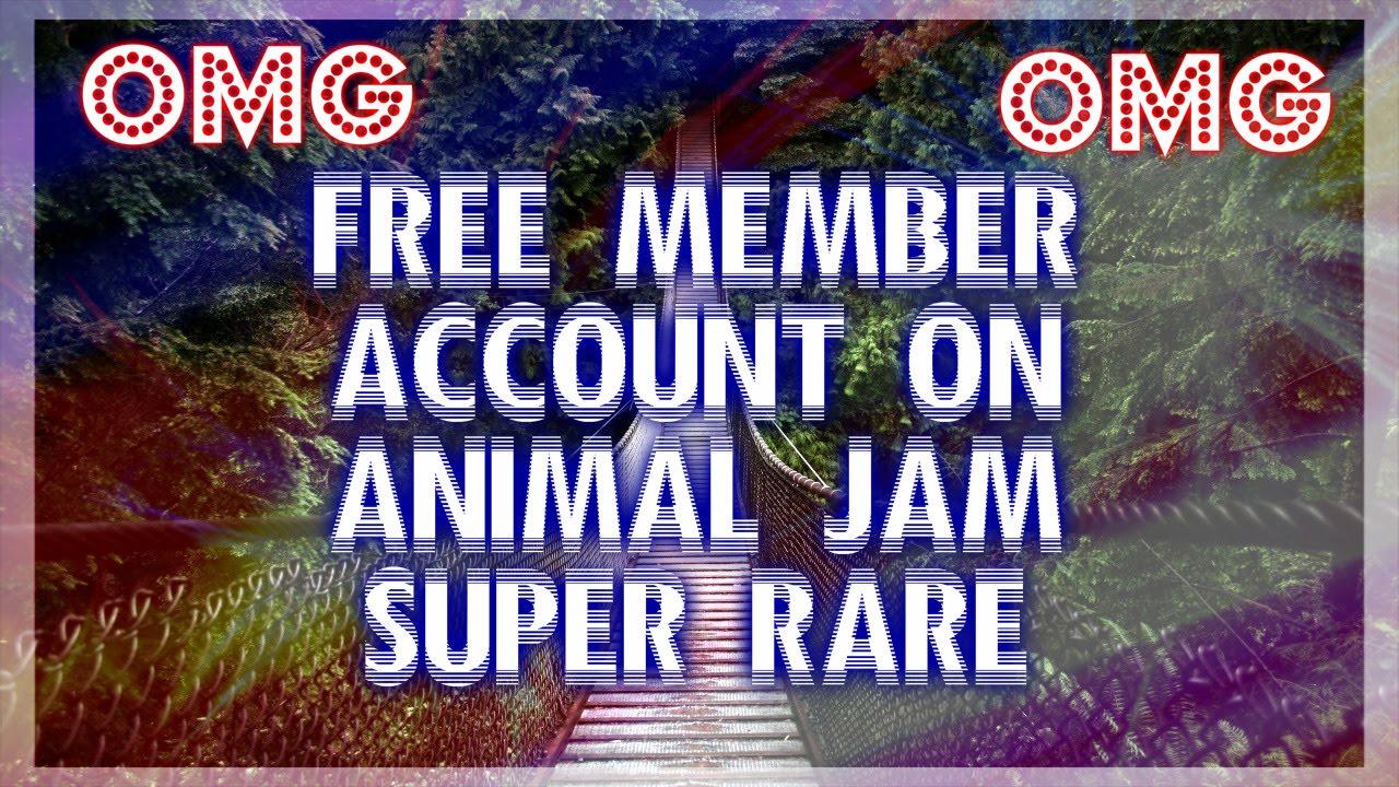 Free Rares Animal Jam