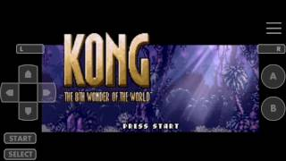 Kong The 8th Wonder Of The World GBA for 6 Min.