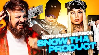 LA MEXICANA CON TREMENDO FLOW 🔥 | REACCION a Snow Tha Product || BZRP Music Sessions #39