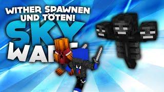 Wither SPAWNEN und TÖTEN! - Minecraft Sky Wars! | DieBuddiesZocken