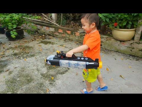Trò Chơi Bé Vui Xe Nhỏ Đại Dương ❤ ChiChi ToysReview TV ❤ Đồ Chơi Trẻ Em Baby Doli Bài hát Vần Thơ