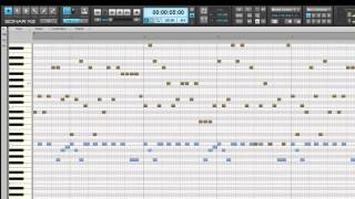 SONAR X2: Get Started - Piano Roll