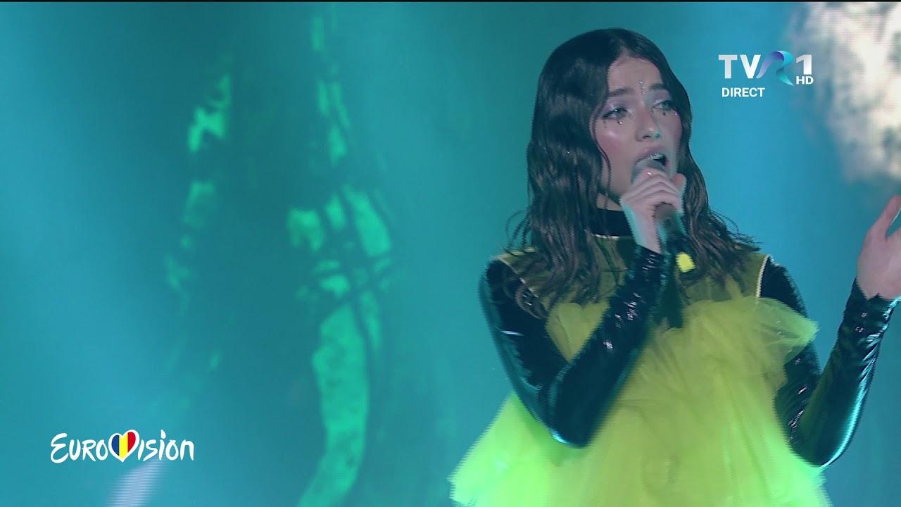 Roxen - Storm   Finala Eurovision România 2020 (@TVR1)