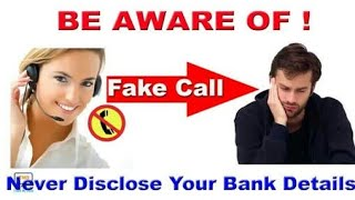 MY REAL EXPERIENCE | FAKE CALL FROM SBI | CALL RECORDING |