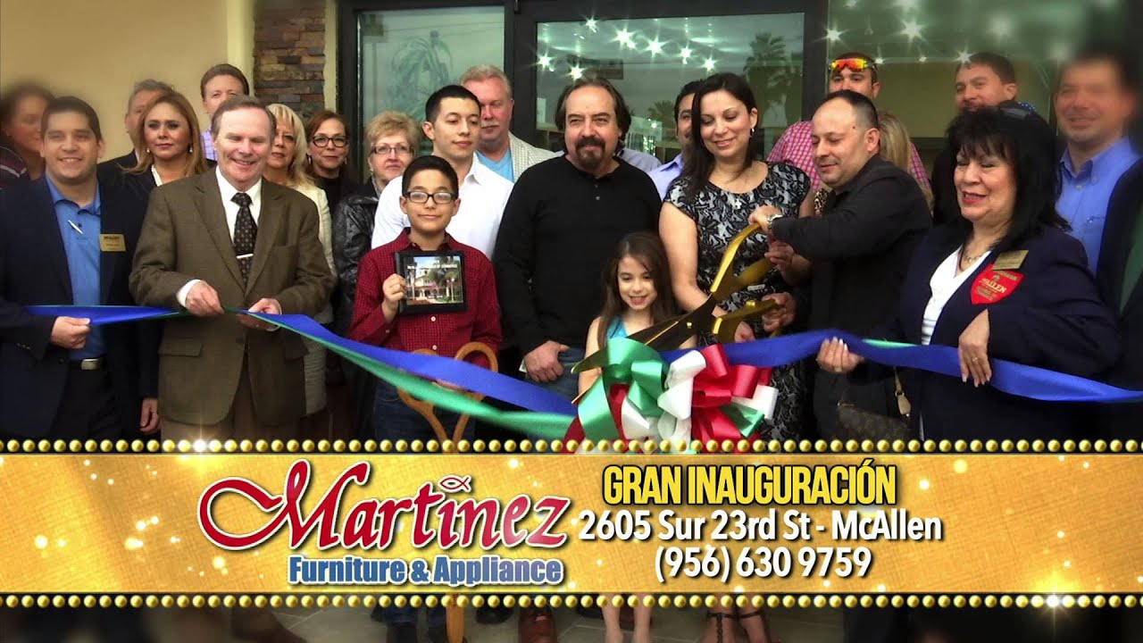 Superb Martinez Furniture POP Ribbon Cutting