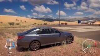 2013 Lexus GS350 F Sport - Speed Jump Crash Test - Forza Horizon 3 - 1440p 60fps